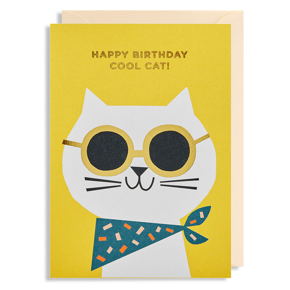 Happy Birthday - Cool Cat