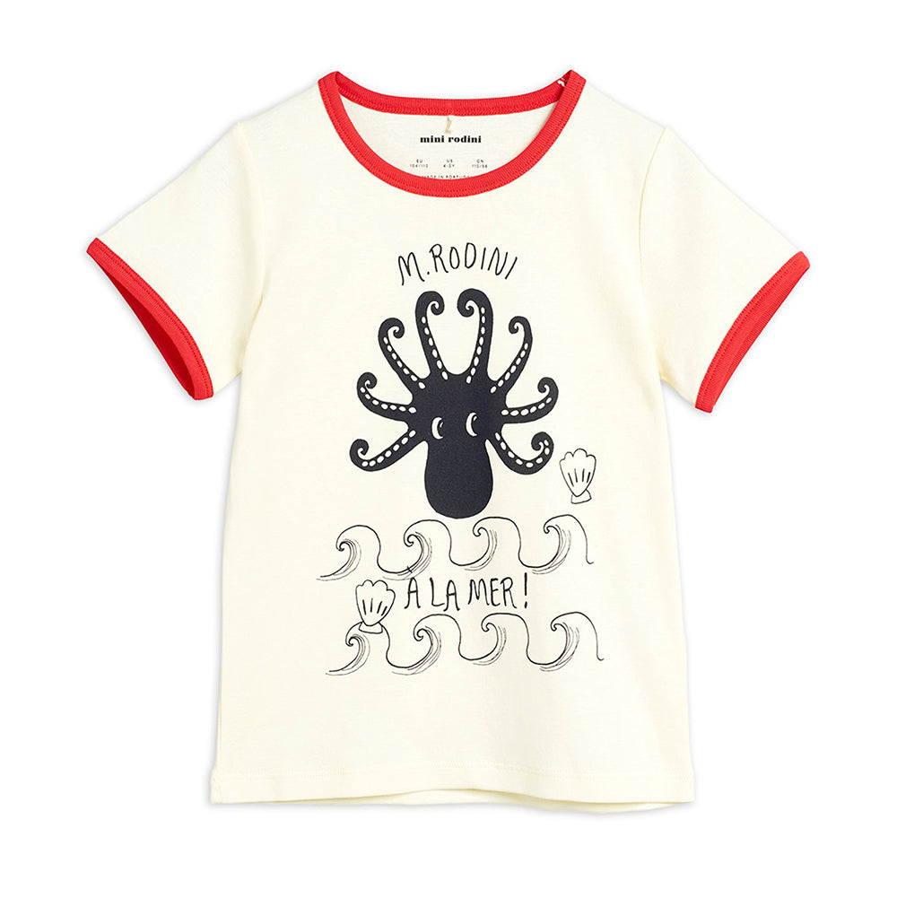 Octopus ss tee - Red