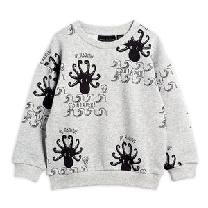Octopus aop sweatshirt - Grey