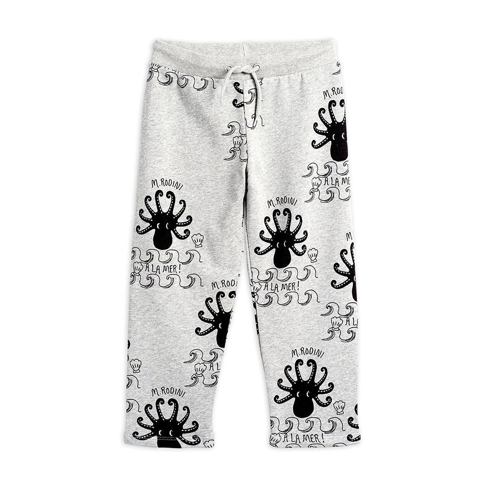 Octopus aop sweatpants - Grey