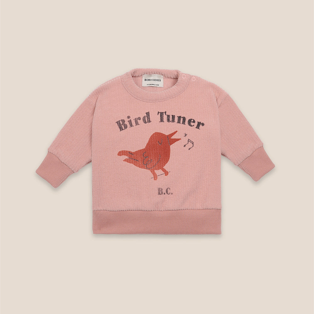 Bird Tuner Terry Towel Sweatshirt