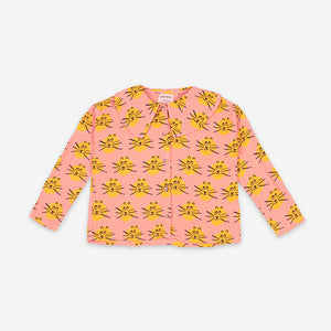 Cat All Over woven blouse