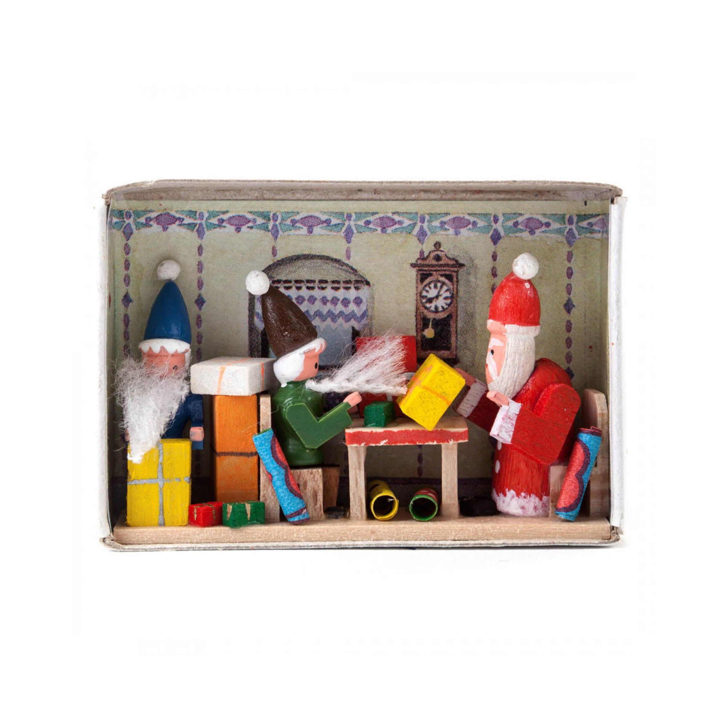 Santas Surprise Matchbox