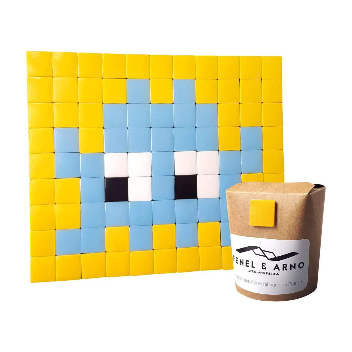 Decorative mosaic tile glass adhesive INVADER