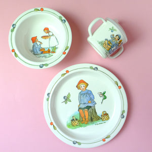 Elsa Beskow tableware set - Summer Made