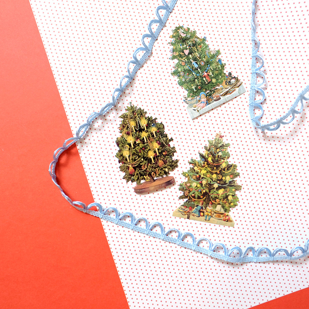 Christmas tree tag set