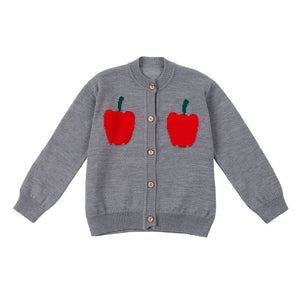 Knitted cardigan - Pepper