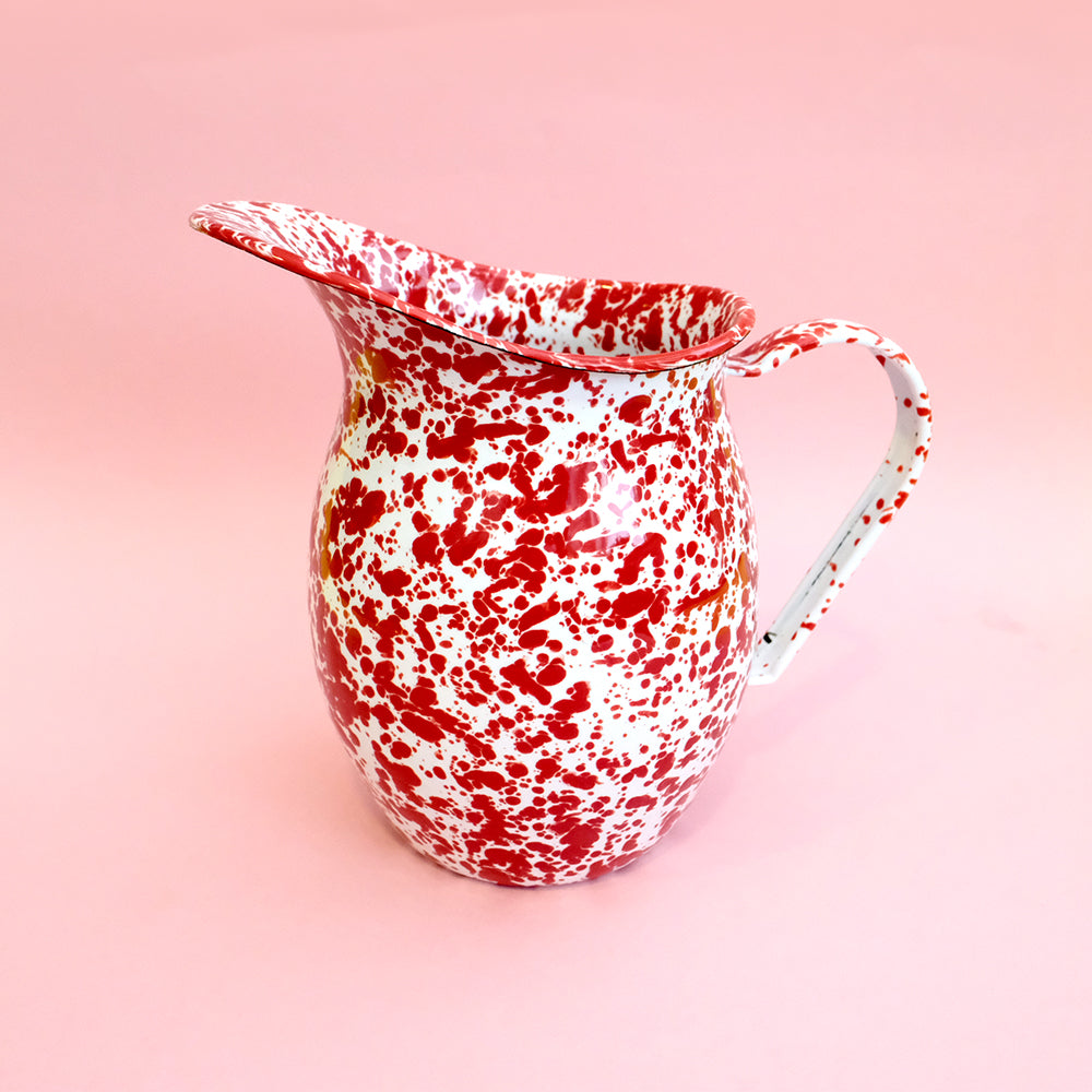 Small enamel pitcher