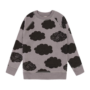 Sweatshirt - Clouds grey