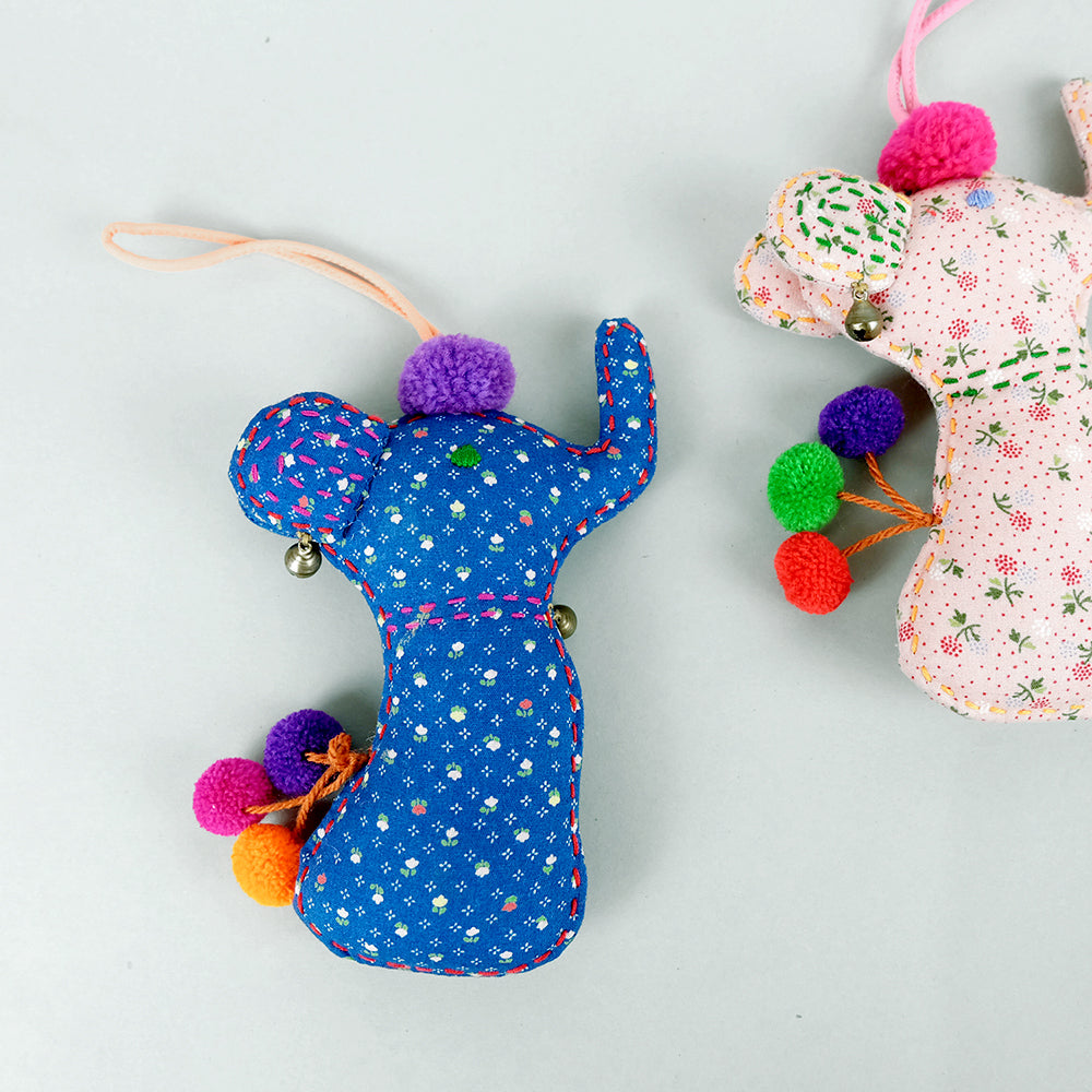 Hanging trunky elephant doll - Summer Made