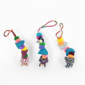 Stacking doll keyring - Summer Made