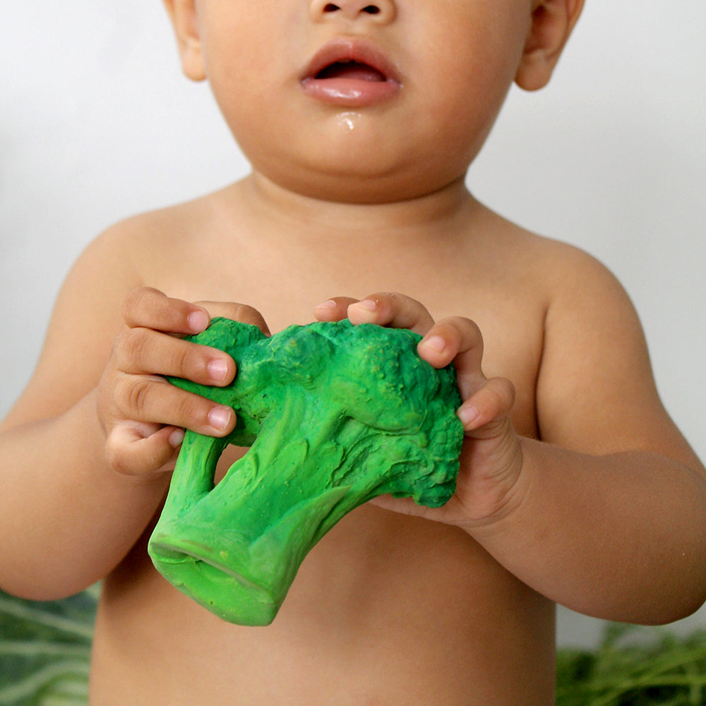Broccoli baby toy
