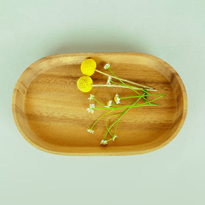 Small wooden plate - Summer Made