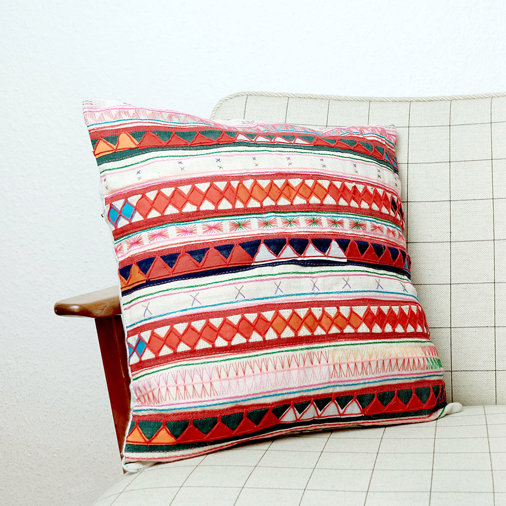 Akha hilltribe cushion cover - Summer Made