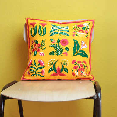 Vintage Handprint cushion cover - Summer Made