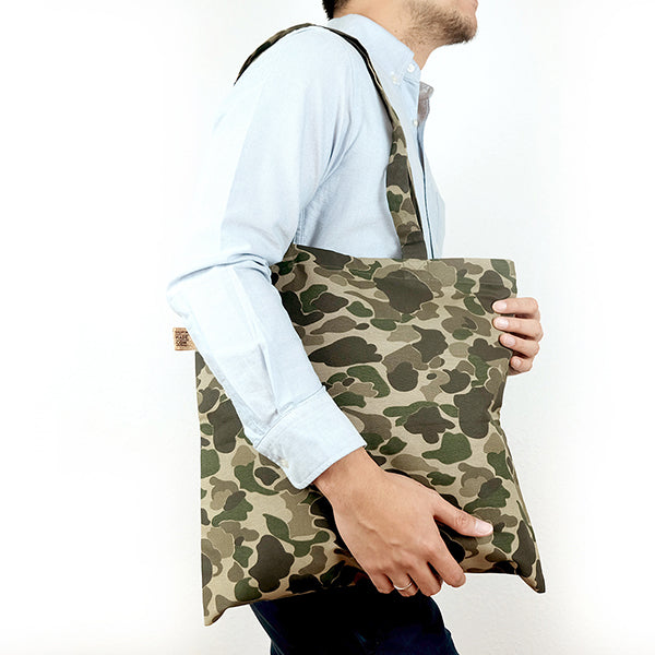 Camo isle tote bag - Summer Made