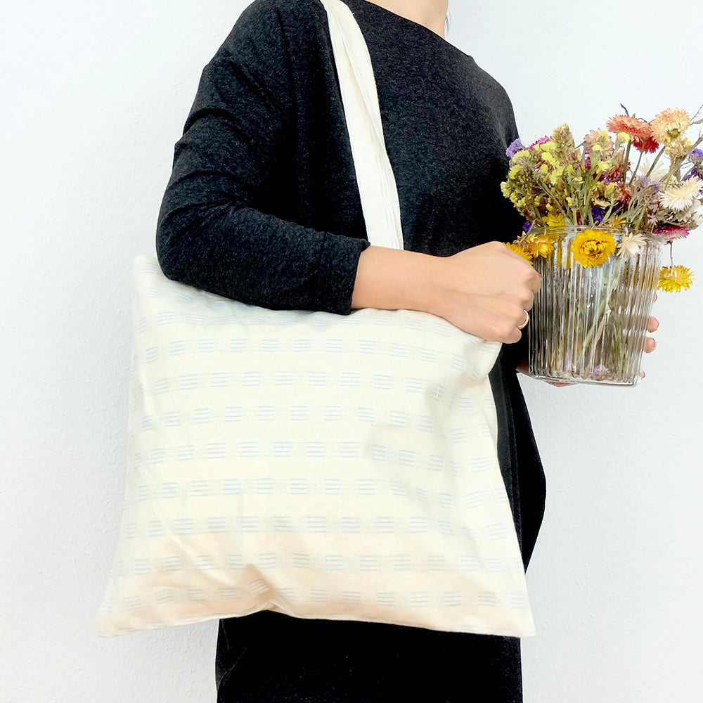 Embroidered tote bag - Summer Made