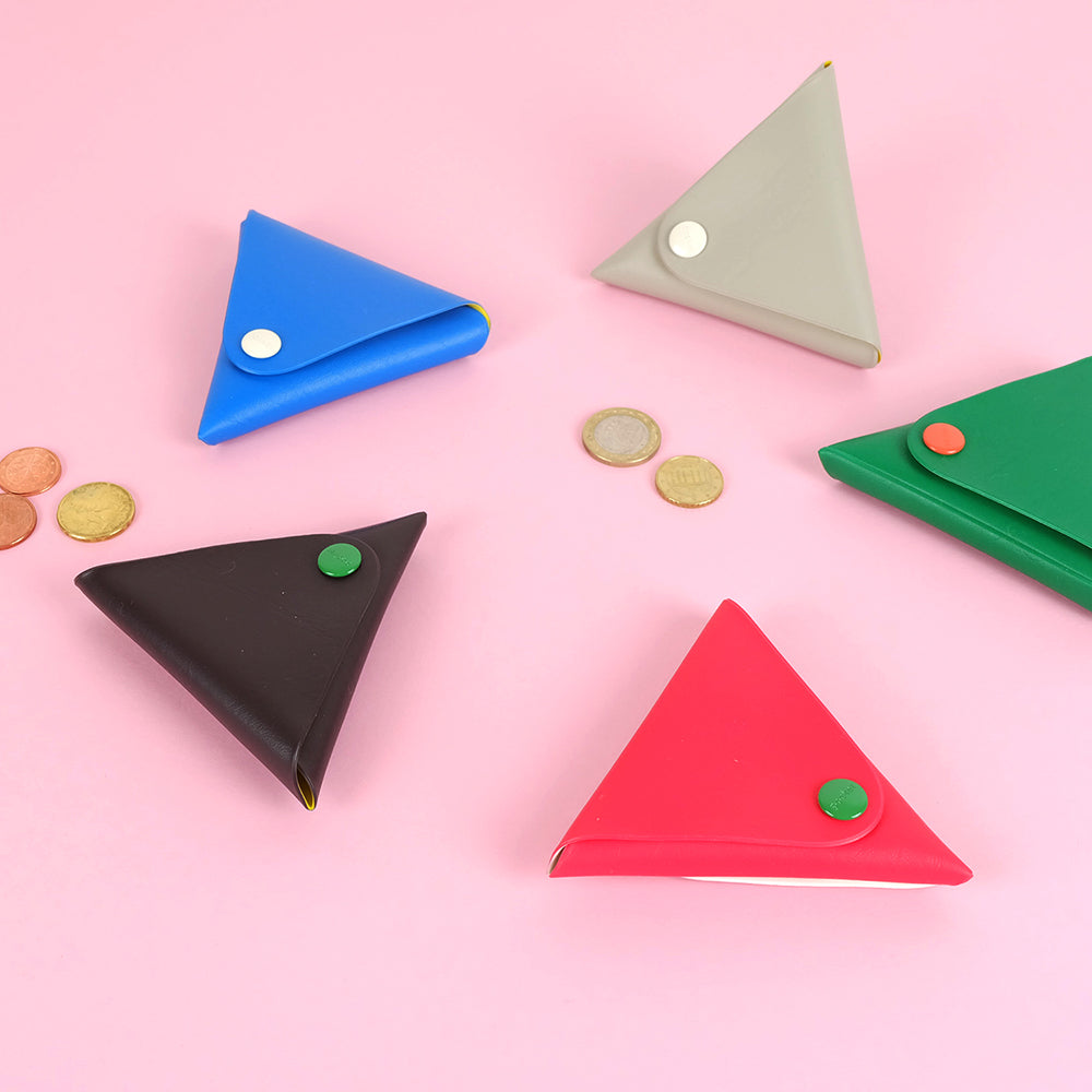 Triangle coin pocket - Summer Made