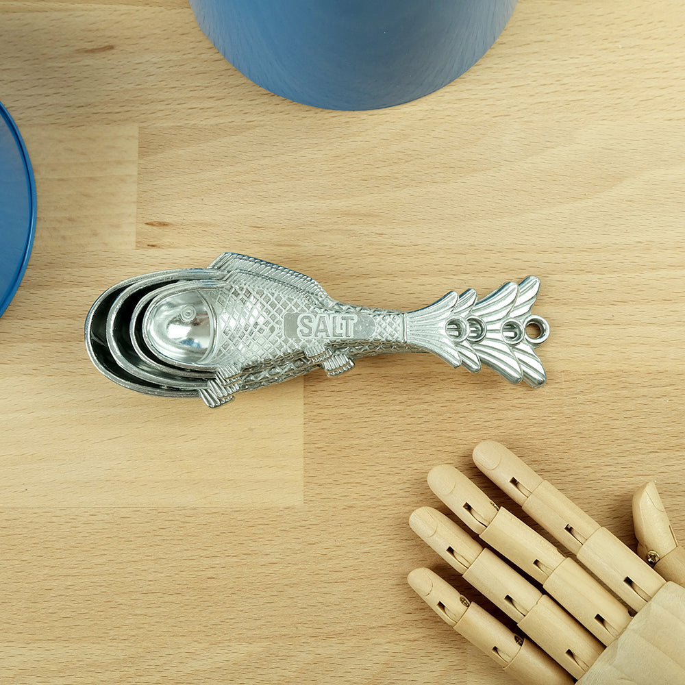 Metal spoon in fish shape - Summer Made