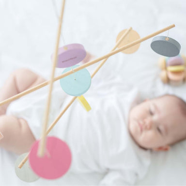 Wooden baby mobile - Summer Made