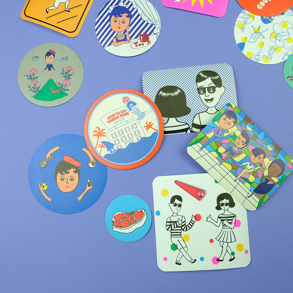 DIY 50 stickers vol.2 - Summer Made