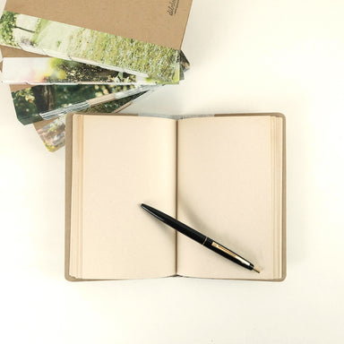 Vintage hand-stitched notebook - Summer Made