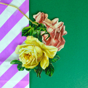 Rose hanging tag - Summer Made