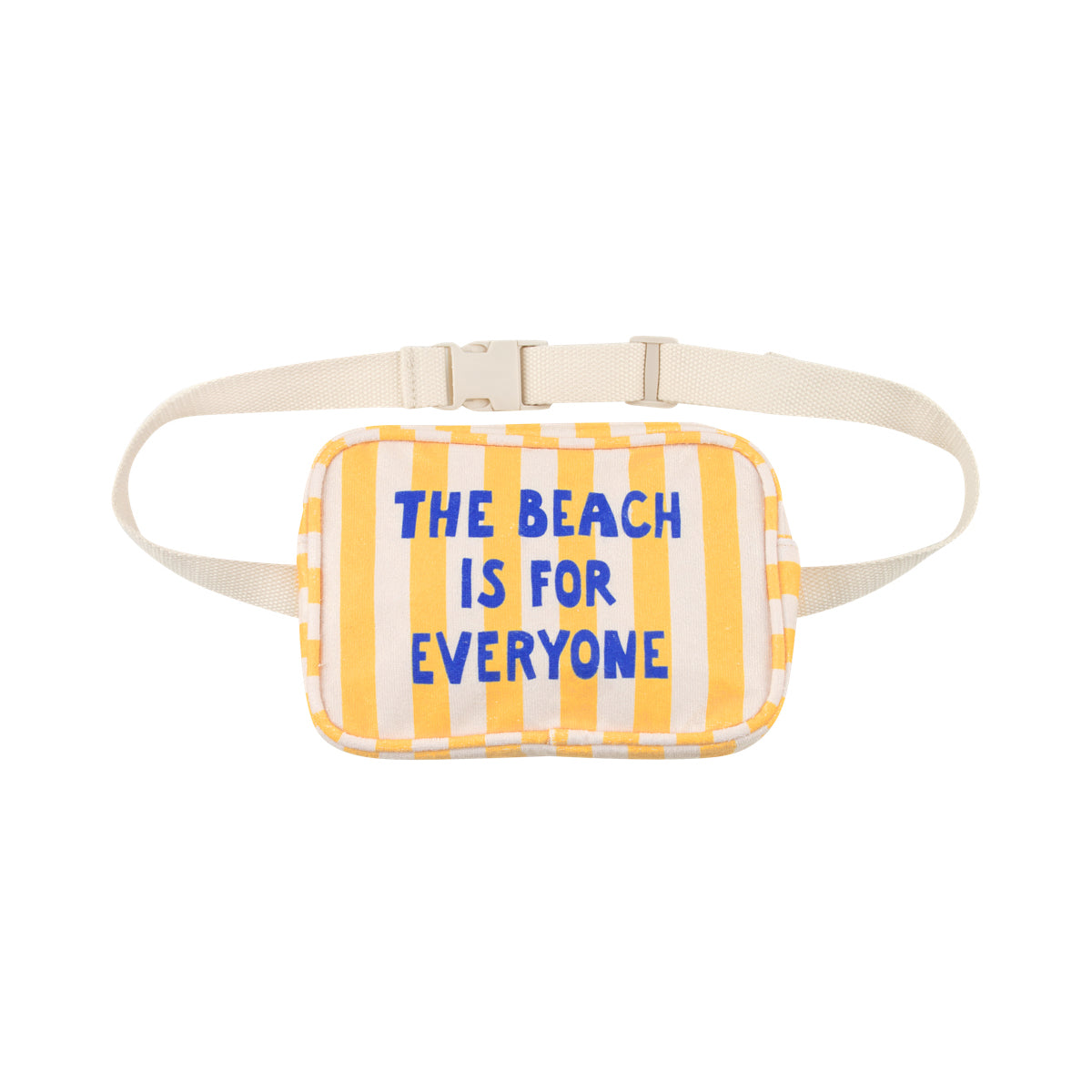 THE BEACH IS FOR EVERYONE FANNY BAG