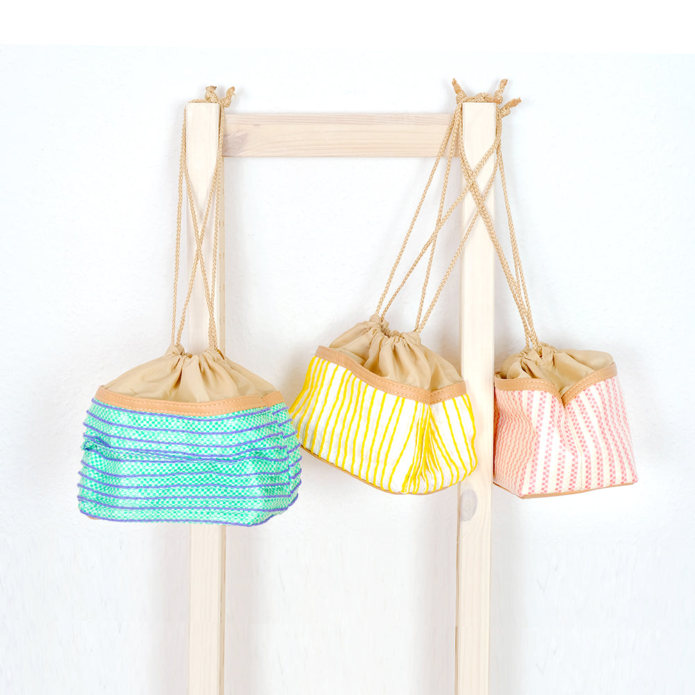 Draw string box bag - Summer Made