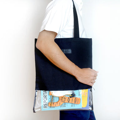Transparent tote bag - Summer Made