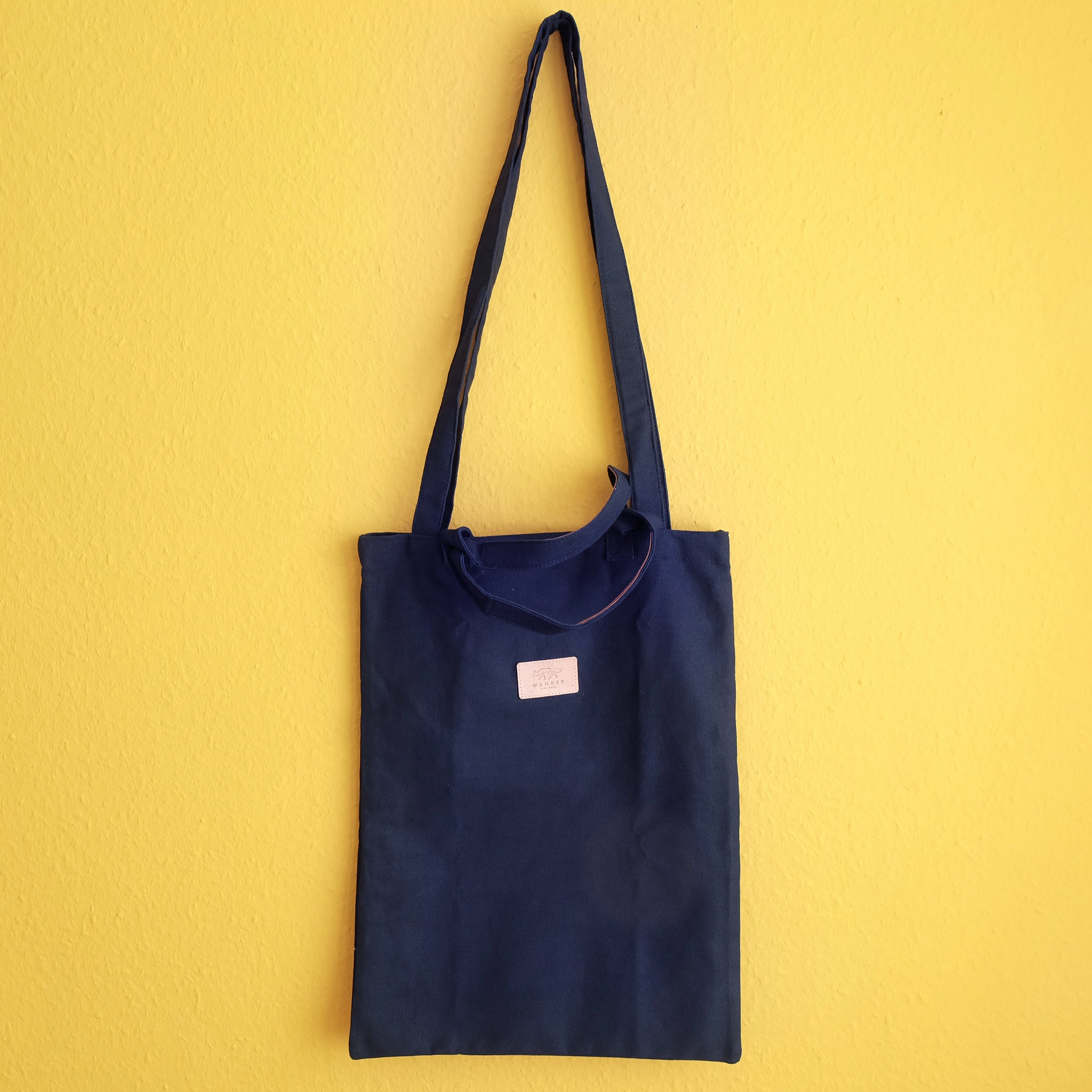 Tote bag with long and short strap - Summer Made