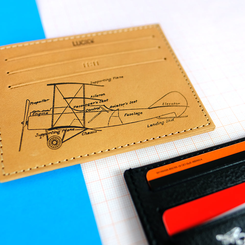 Leather card holder - Summer Made