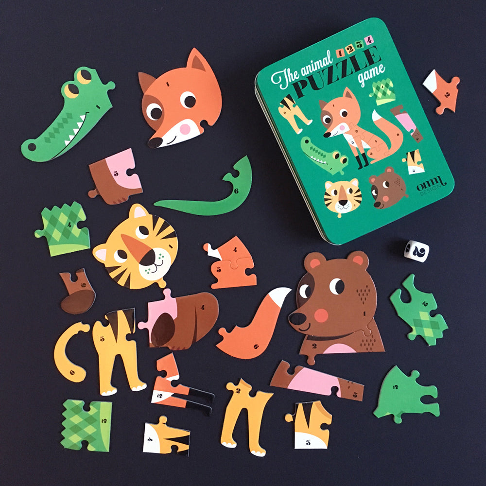 Animal Dice Puzzle game