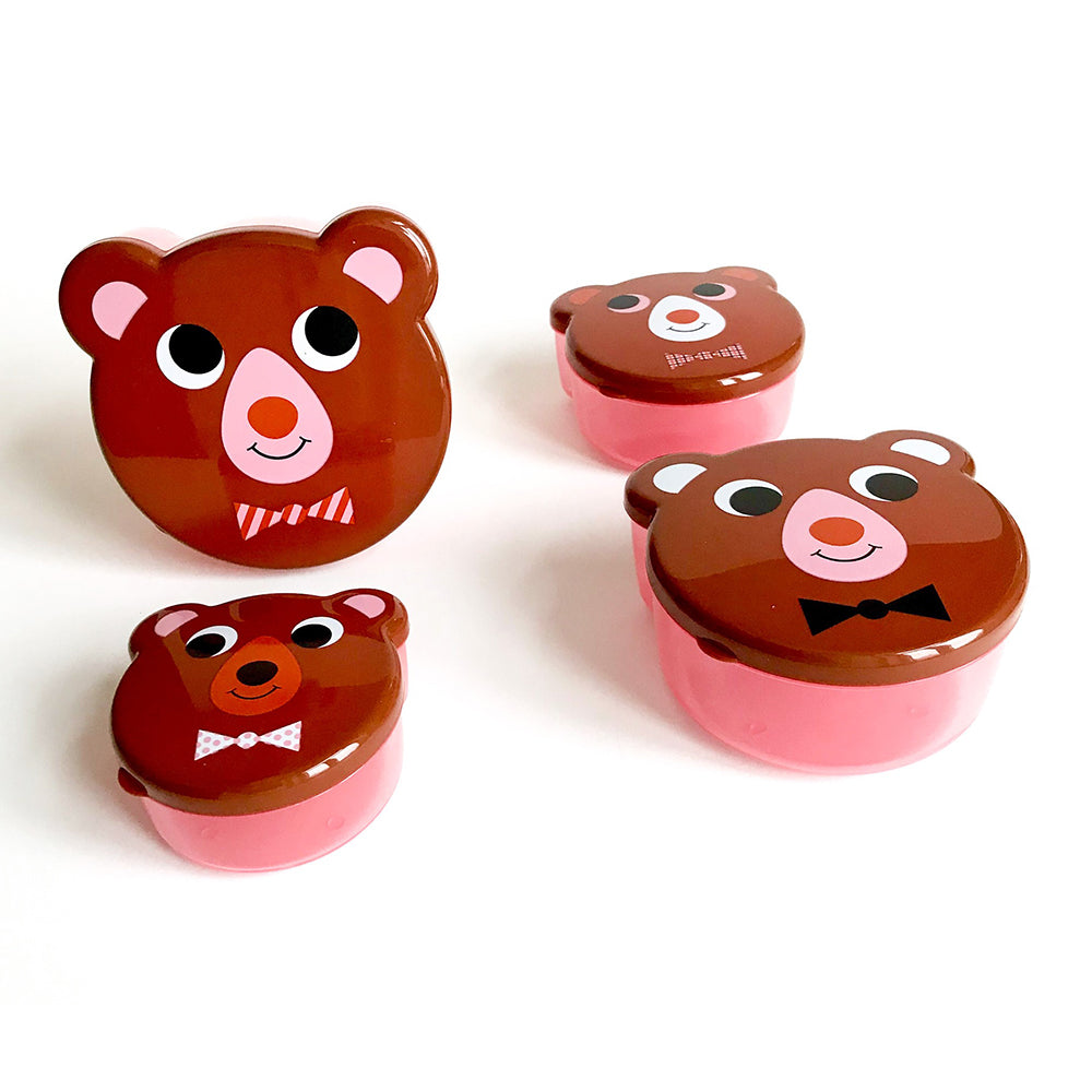 Bear Snack Boxes