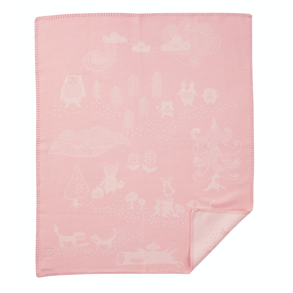 LIttle Bear Brush Cotton Blanket