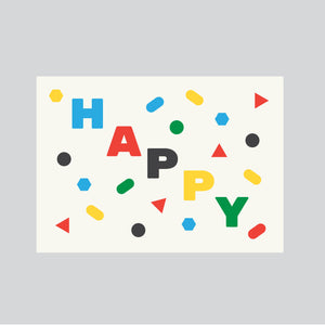 Post a card - Happy