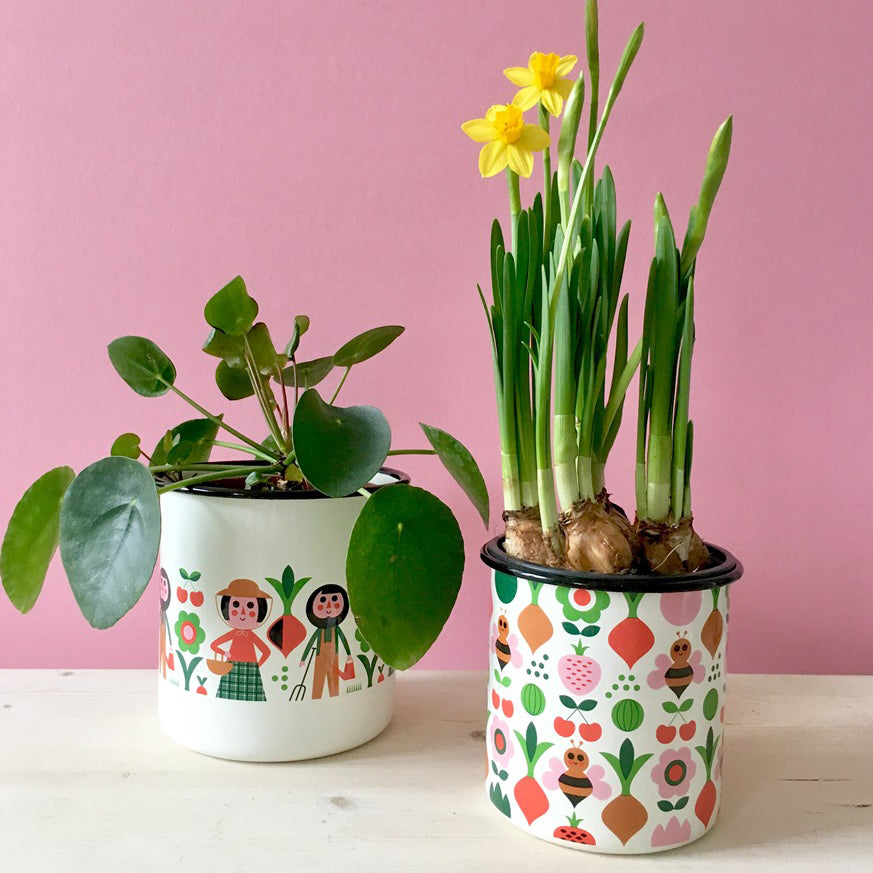 Gardener Flower Pot Set