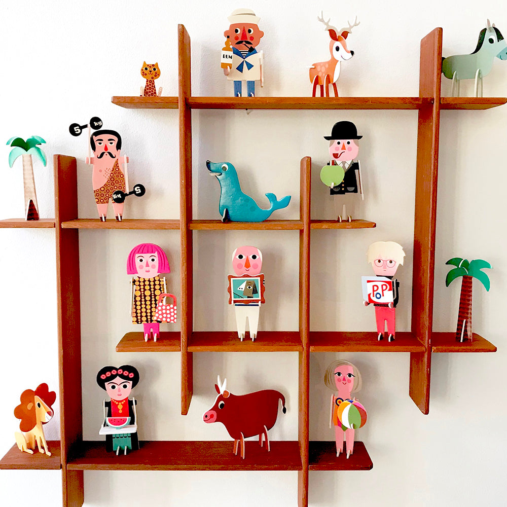 Animals Parade 3D Puzzle