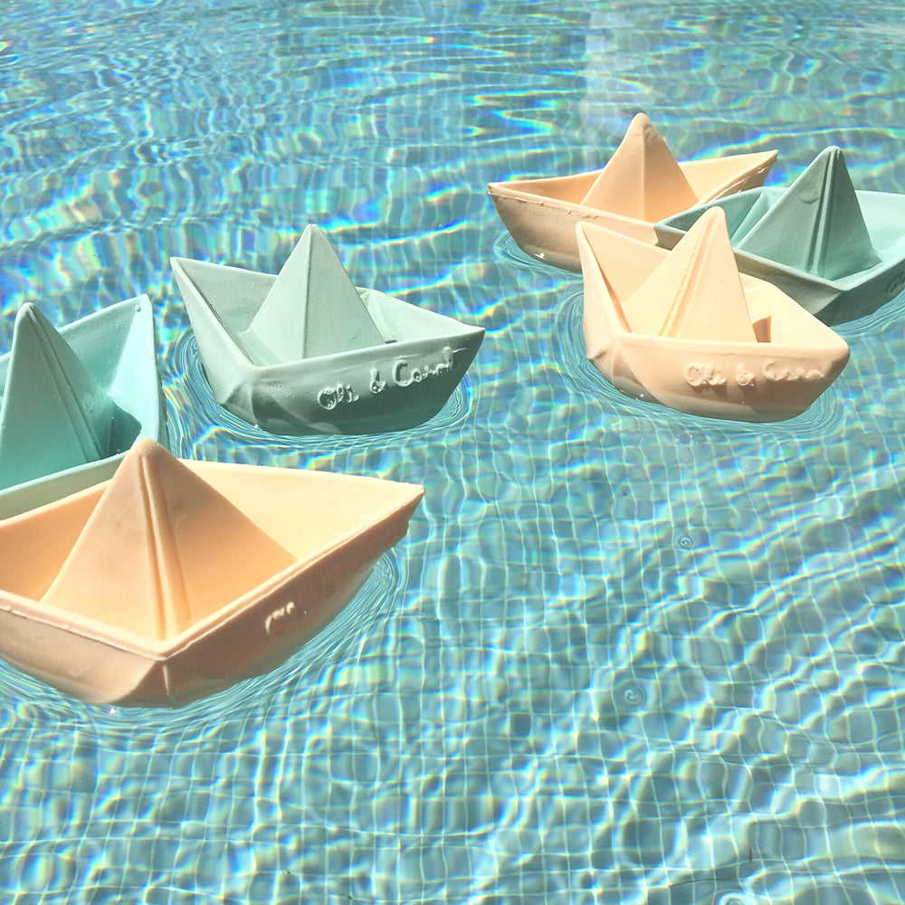 Origami boat baby toy - Summer Made