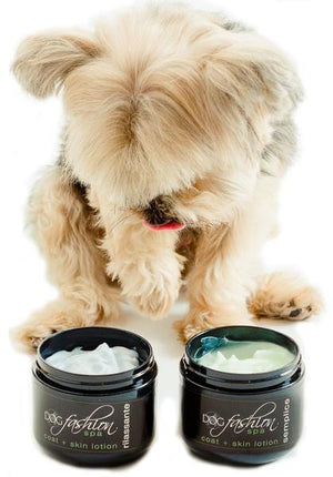 Coat & Skin Lotion for Small Dogs