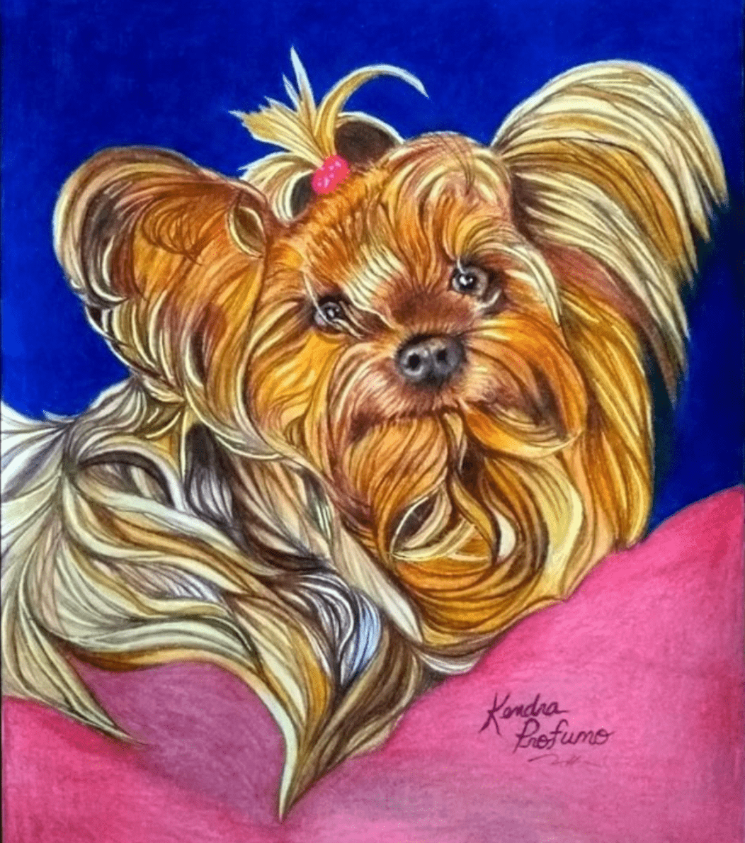Kendra Profumo Pet Portrait