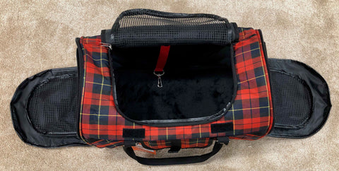 Prefer Pets 312 Hideaway Dog Carrier with sides and top open