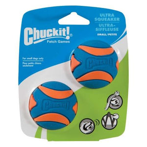 Chuckit Ultra Squeaker Small Dog Balls