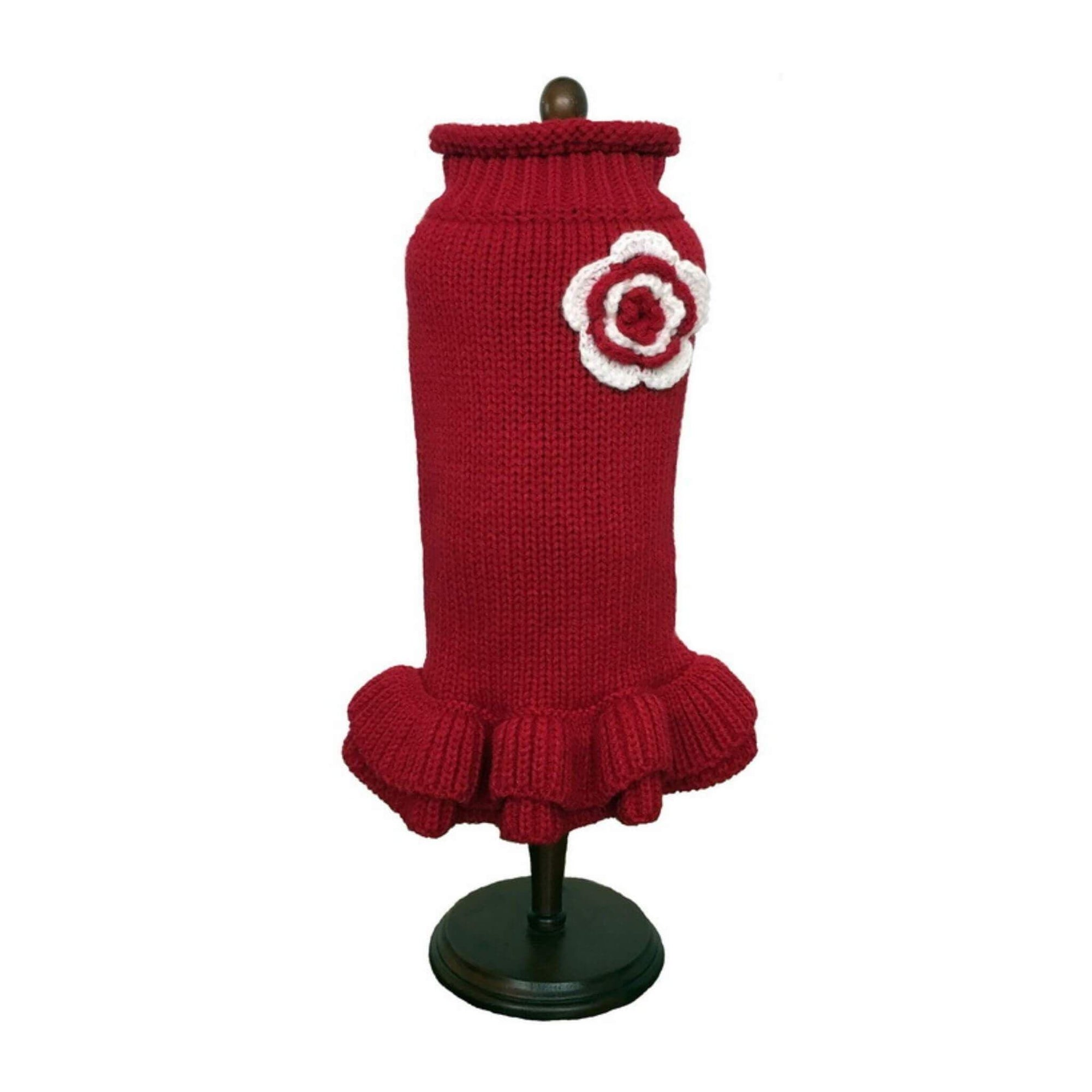 Dallas Dogs Red Dog Sweater Dress
