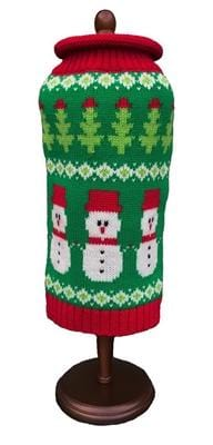 Dallas Dog Snowmen Dog Sweater