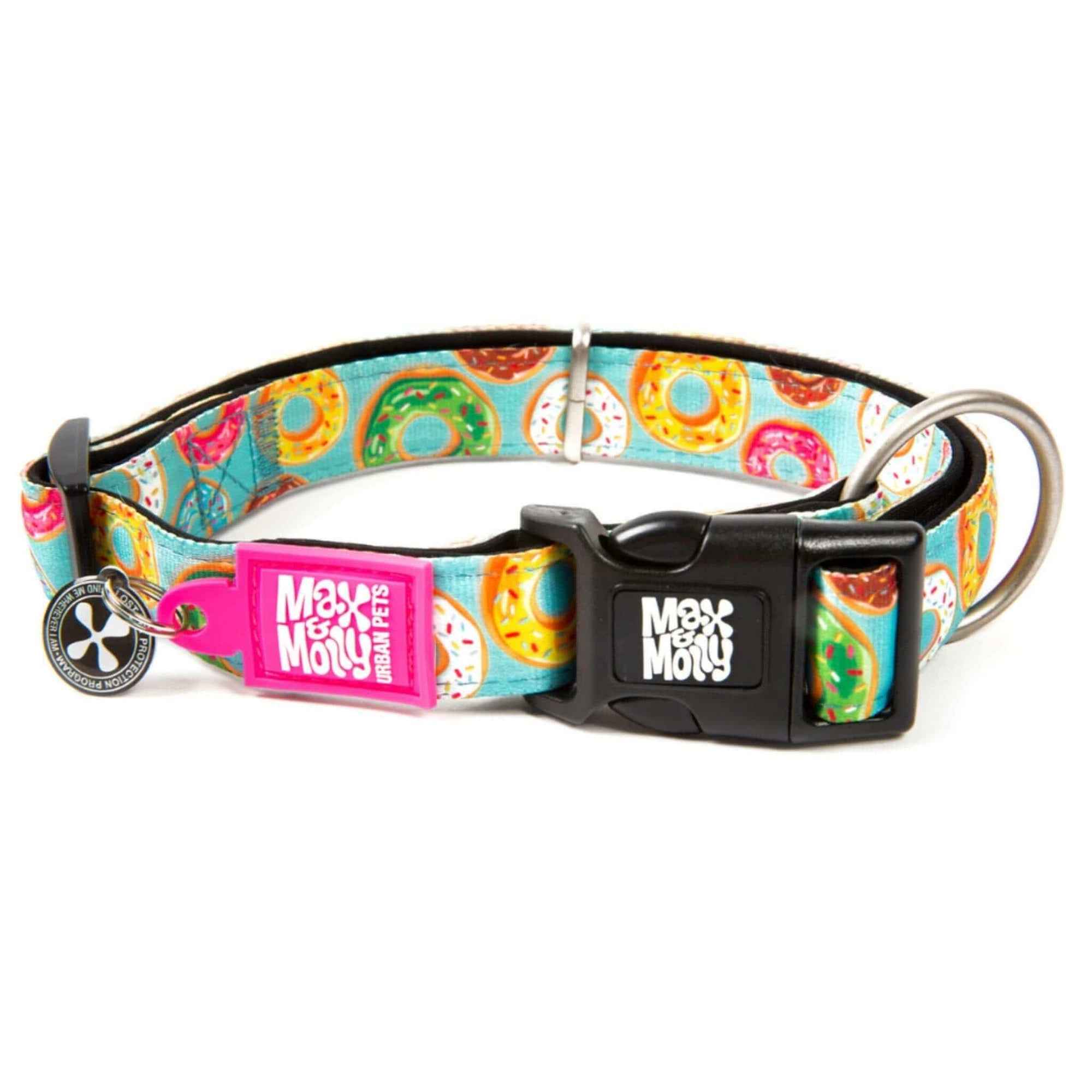 Max & Molly Small Dog Collar - Donuts