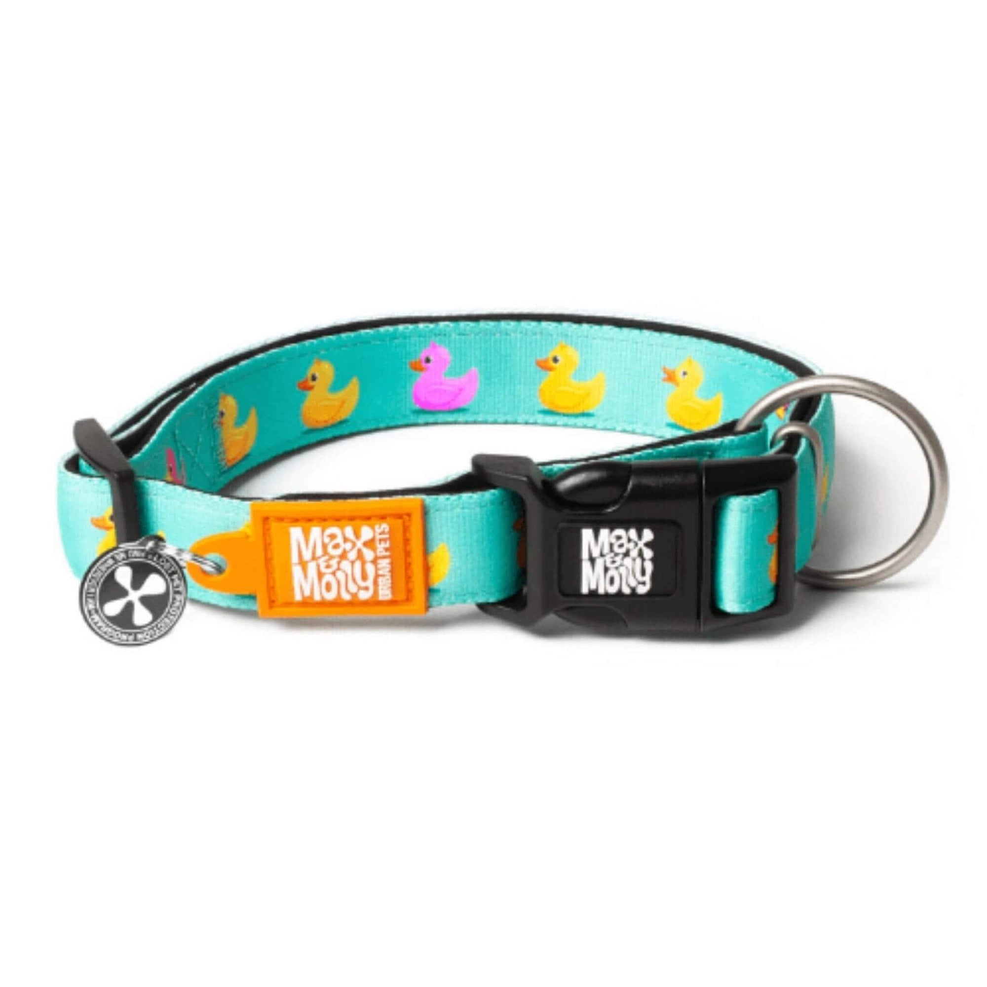 Max & Molly Small Dog Collar - Ducklings