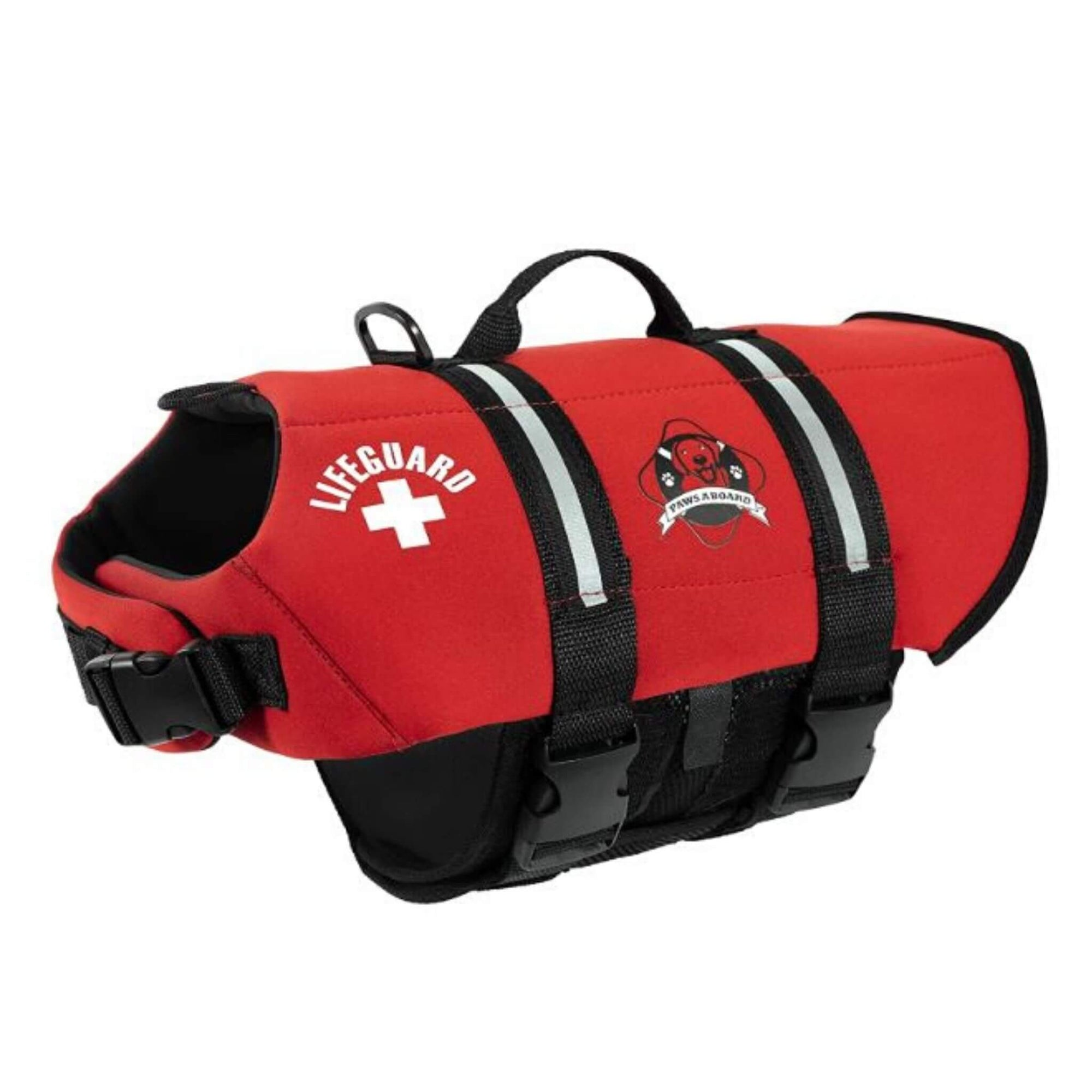 Paws Aboard Dog Life Jacket - Red