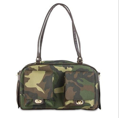 Petote Marlee Dog Purse - Camouflage