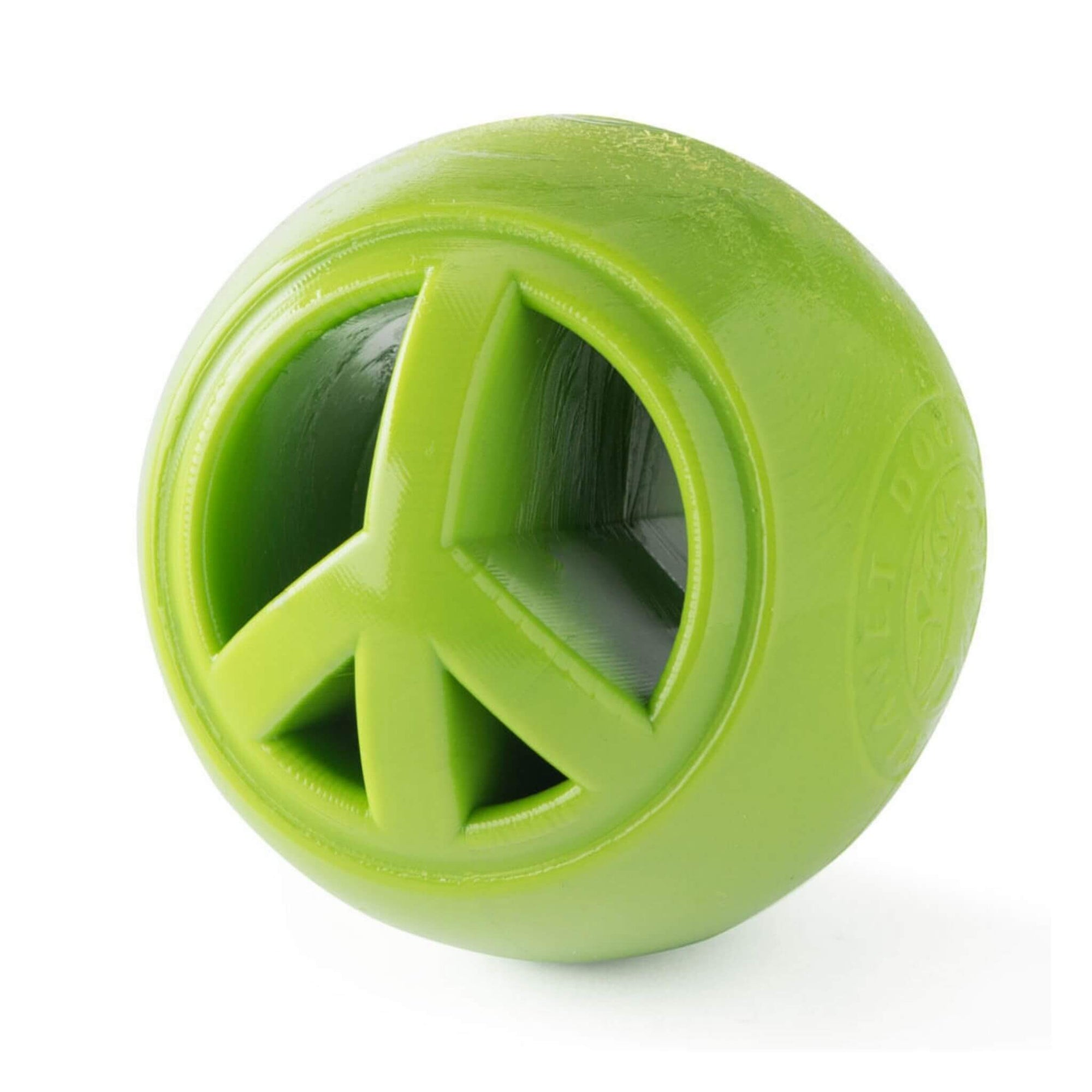 Planet Dog Orbee-Tuff Nooks Dog Toy - Peace Sign
